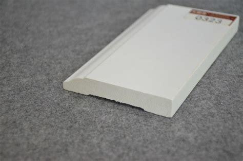 plastic pvc trim moulding colonial baseboard pvc trim moulding white vinyl skirting