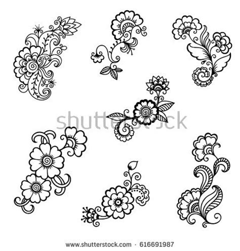 henna design templates henna stock images royalty free images vectors