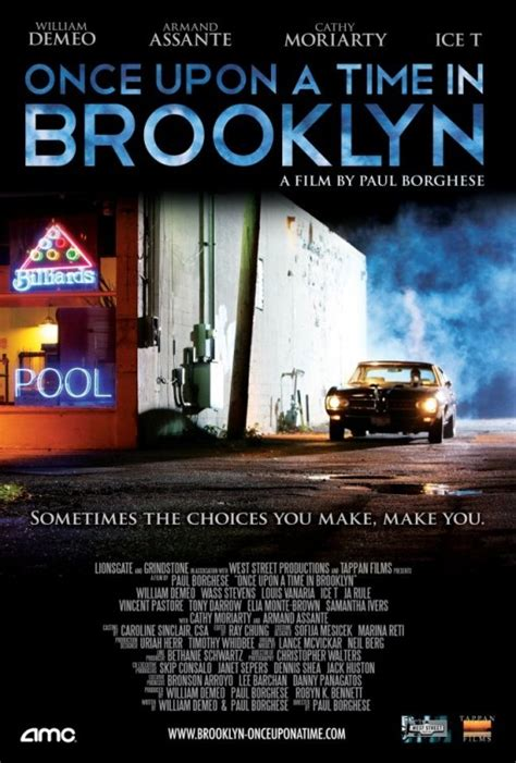 Upon Time Brooklyn 2013 Full Movie Once Upon A Time In Brooklyn Movie Poster Imp Awards