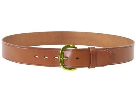bianchi b8 heavy duty belt 1 3 4 brass buckle leather 40