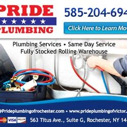 Plumbing Rochester Ny by Pride Plumbing Plumbing 563 Titus Ave Rochester Ny