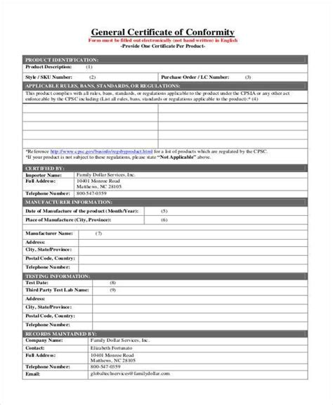 certificate of conformance template word certificate of conformance template word yun56 co