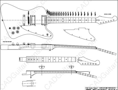 electric acoustic guitar plans pdf firebird studio electric guitar plan gibson style