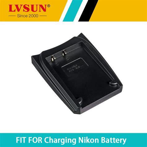 Adaptor Charger Nikon Mh 62 Coolpix P1 S2 S6 S8 S52 P2 S3 S7 S9 Ori lvsun enel8 en el8 en el8 rechargeable battery adapter