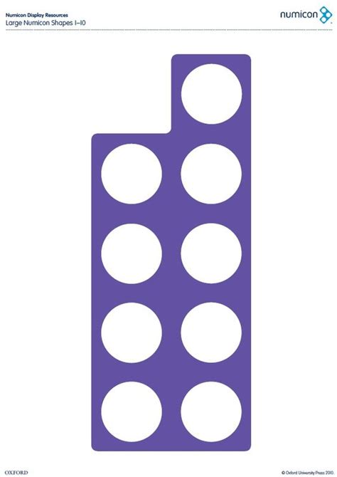 free printable numicon shapes download your free large numicon shapes from 1 10 here