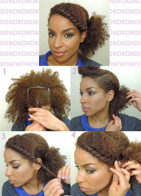 diy hairstyles for natural hair 3 easy and romantic diy hairstyles in under 10 minutes