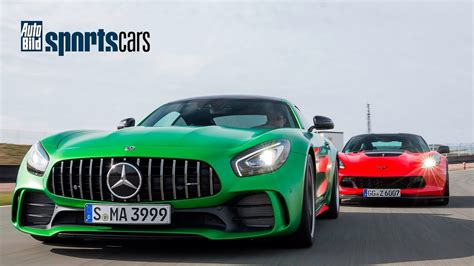 Auto Bild Sportscars Z06 mercedes amg gt r vs corvette z06 0 200 km h duell