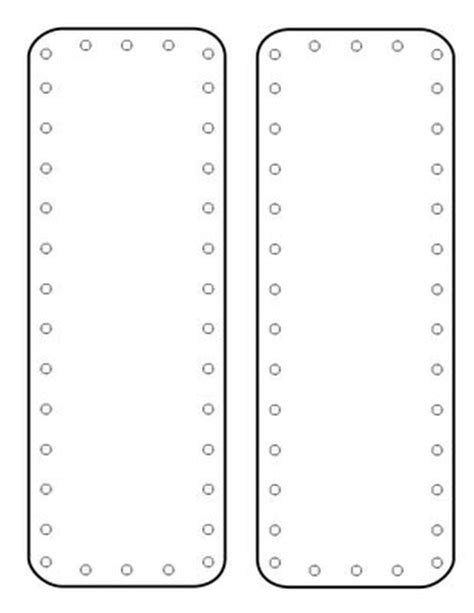 Moldes De Marcadores De P 225 Ginas Ou Livros Em Eva Espa 199 O Educar Large Bookmark Template