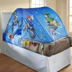 Boys Bed Canopy Tents Selena Nintendo Boy S Mario Bed Tent