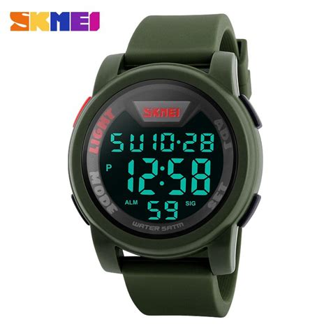 Jam Tangan Led Sport Watches jual jam tangan pria digital skmei sport led