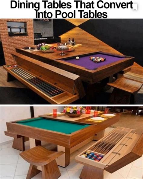 Fabulous Kitchen Inspirations Toward Pool Table Converts