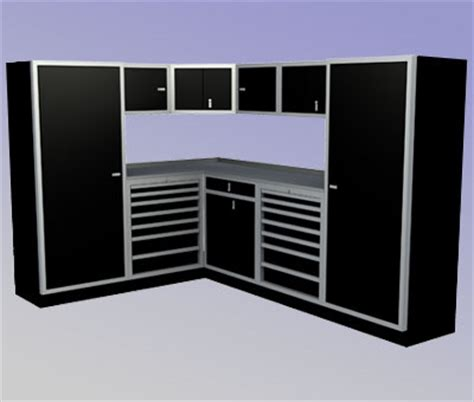 2 Car Garage Dimensions 88 Quot X 120 Quot Premium Corner Aluminum Garage Cabinets