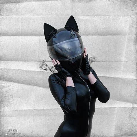 Motorradhelm Katzenohren cat ear motorcycle helmets cat ears neko and helmets
