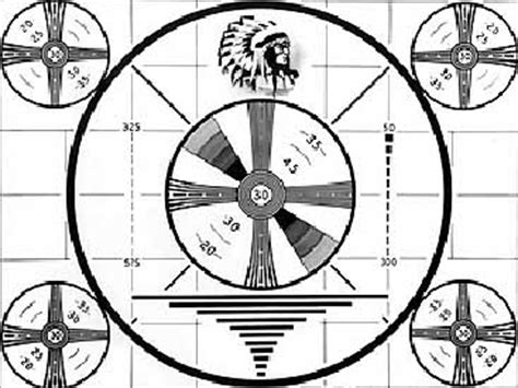 test pattern radio television the way i first remember it