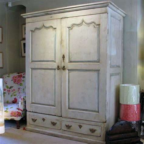 a painted pine wardrobe or press antiques atlas