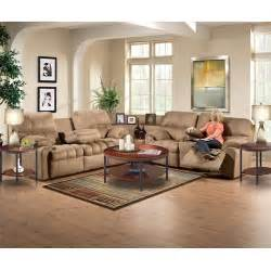 Sectional Sofas For Small Spaces With Recliners - aaron s tahoe ii sectional sofa group sofa loveseat chair ottoman coffee table 2 end