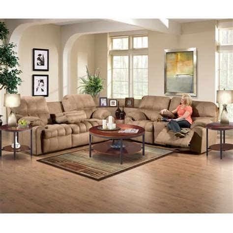 Living Room Show Pieces by Aaron S Tahoe Ii Sectional Sofa Sofa Loveseat Chair Ottoman Coffee Table 2 End