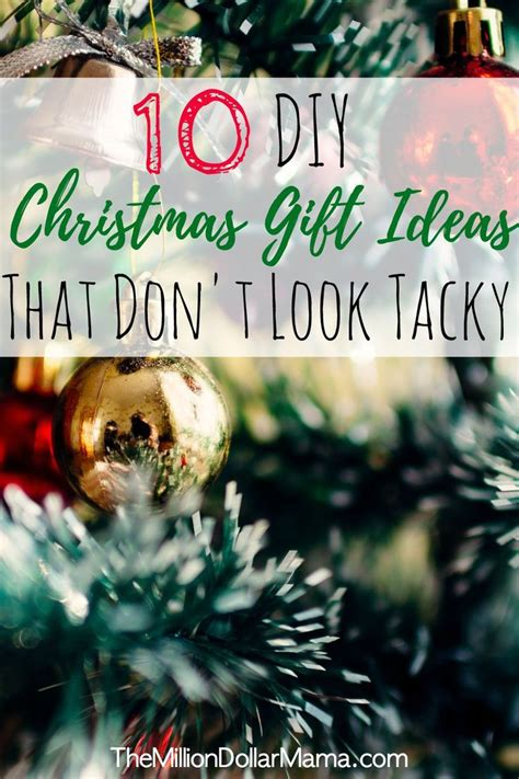 10 money saving diy christmas gift ideas that don t look