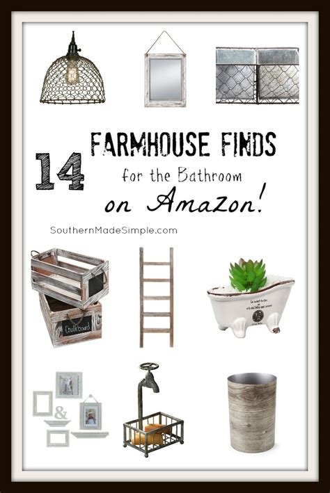 14 farmhouse bathroom finds on southern made simple