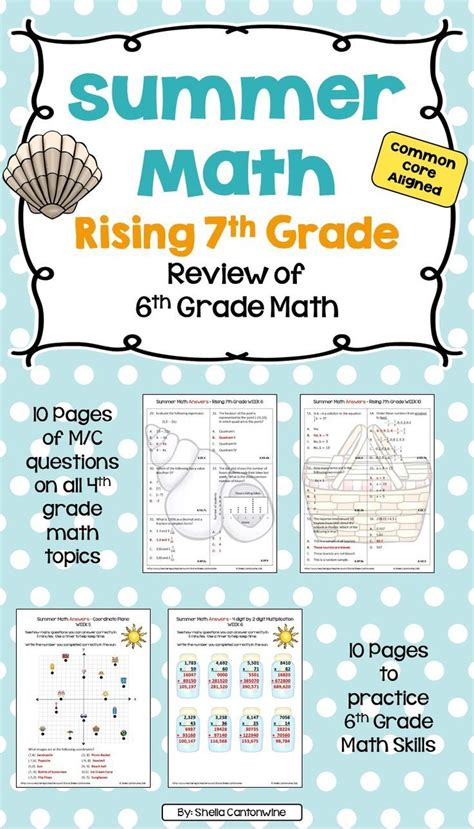 resources for summer packets middle school 7th grade 235 best images about ratios proportional relationships