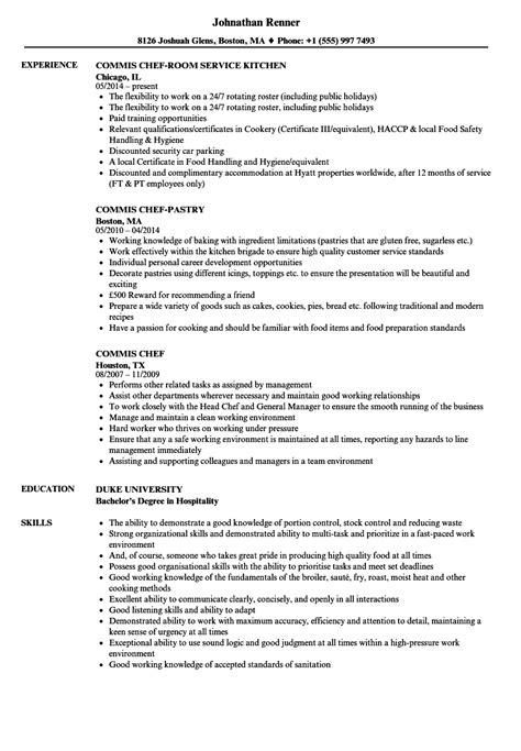 chef resume template free free samples examples chef resume sample