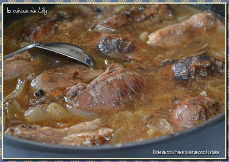 pot 233 e de chou fris 233 et joues de porc confites la cuisine de lilly