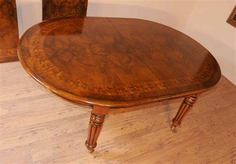 Marquetry Dining Table Walnut Dining Table Extending Tables Marquetry Inlay Diner