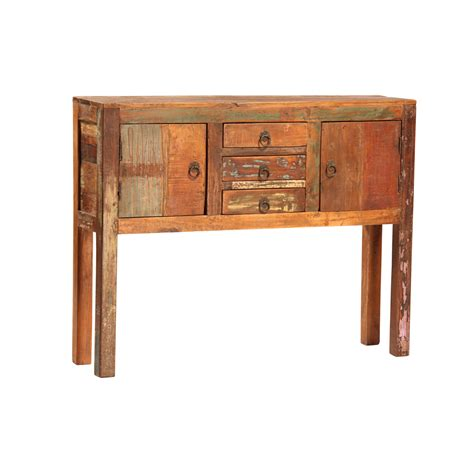 salvaged wood console table salvaged wood console table furniture mix furniture