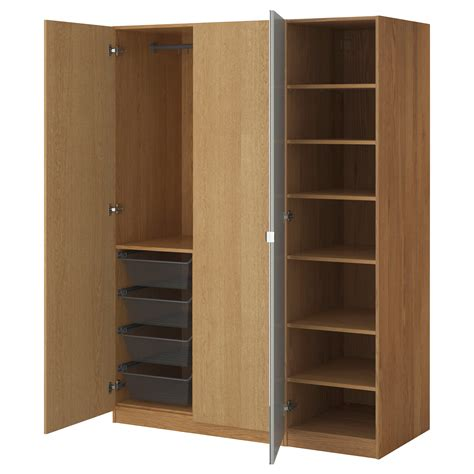 Pic Of Wardrobe by Pax Wardrobe Oak Effect Nexus Vikedal 150x60x201 Cm