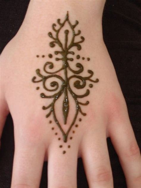 easy beginner henna tattoos mehndi designs for hands