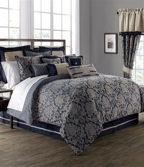 waterford bedding waterford sinclair distressed damask comforter set dillards