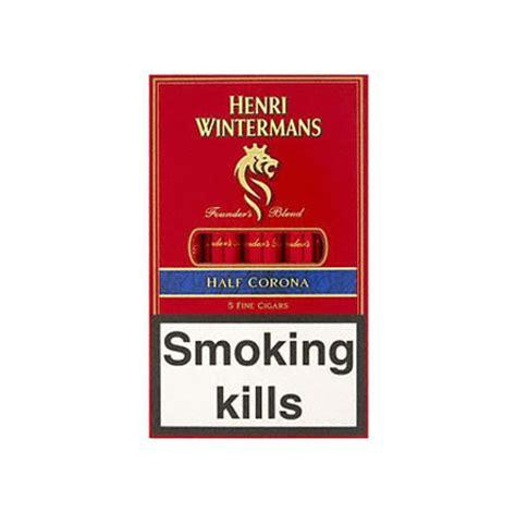Cerutu Henry Winterman Half Corona 1 henri wintermans half corona cigarillos 5 x 5 cigars