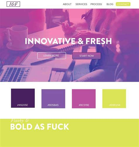 color combinations for website of website color schemes purple the best tools for
