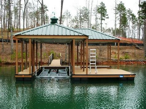 best pontoon boat lifts the cliffs approved dock with boat lift boat lift lake