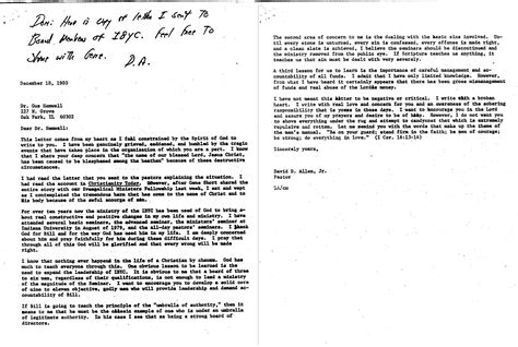 Excuse Letter Due To Flood The Gothard Files Failure To Reconcile 1981 Ati