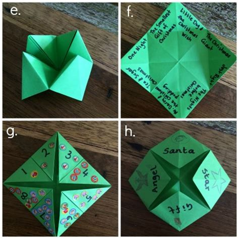 How To Make A Paper Chatterbox - what are some ideas to put in a paper chatterbox sgasd