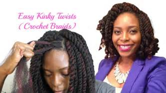 black cuban twist hair easiest kinky twists ever crochet braids with freetress