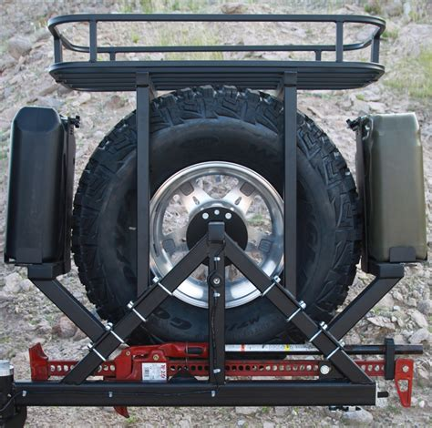 Spare Tire Cargo Rack by Rock 4x4 Rock Rack Cargo Basket For All Rh4x4 Tire Carriers Rh 2004