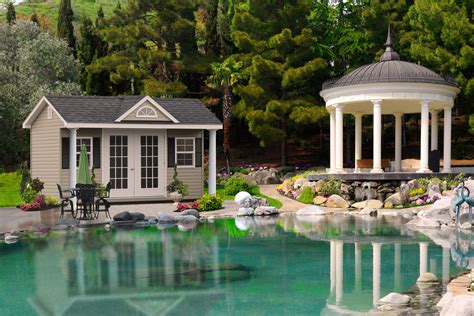 Pool House Sheds by Buy Storage Sheds And Garages Island Ny
