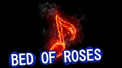 bon jovi bed of roses lyrics bon jovi bed of roses instrumental youtube
