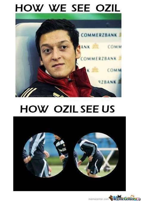 Ozil Meme - ozil loool by jojomessi99 meme center