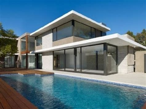 Contemporary House Plans Flat Roof by Contemporary Modern House Plans With Flat Roof