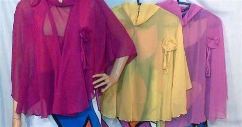 Olla Blouse Capung Tunik Sabrina Capung atasan ciffon grosir baju murah tanah abang