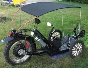 adam s motorized kmx typhoon trike tadpole rider