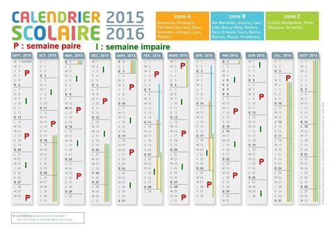 Calendrier 2017 Semaine Paire Et Impaire Calendrier Scolaire Semaine Paire Et Impaire 2016 Clrdrs
