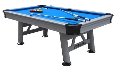 berner billiards florida orlando 7 foot outdoor pool table