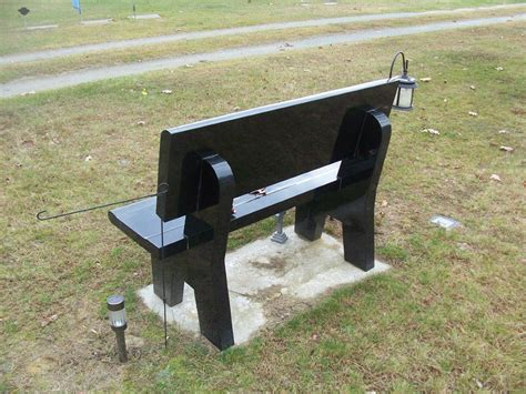 bench memorial granite benches harrisville memorials