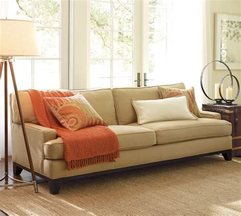 pottery barn loveseat seabury upholstered sofa pottery barn