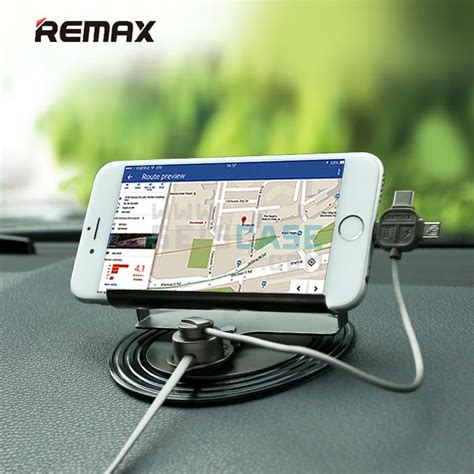 Remax Letto Car Holder 3 In 1 Lightning Microusb Typec Charger Mobil remax letto car phone holder 3 in 1 end 8 20 2019 10 21 am