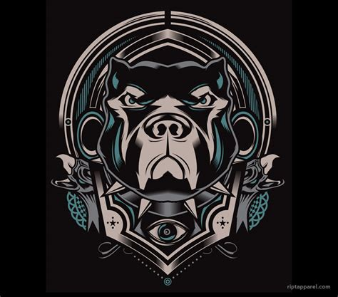 tribal pitbull tattoo designs the gallery for gt tribal pitbull
